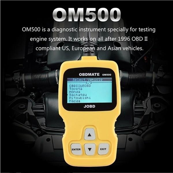 AUTOPHIX OBD2 JOBD CAN Car Fault Code Reader Scanner OM500