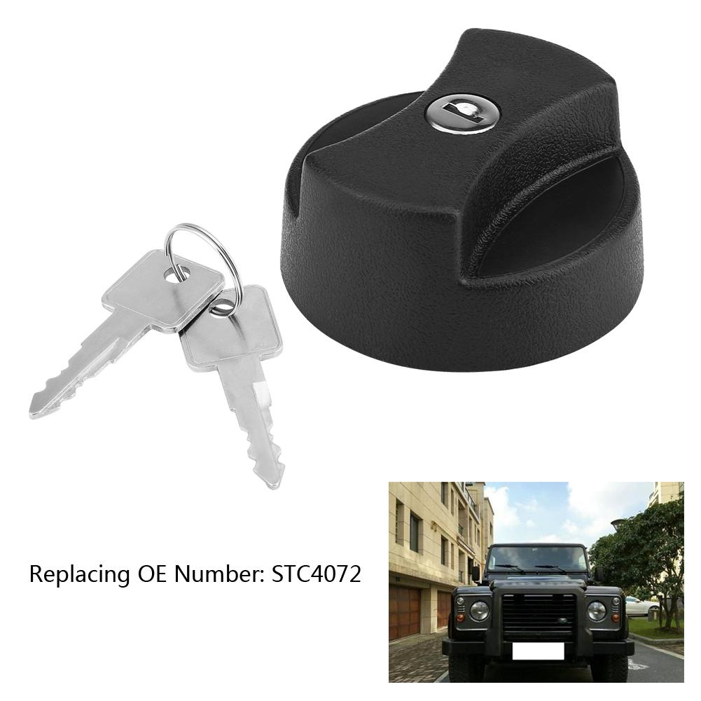 Kimiss car fuel cap fuel cap with 2 locking keys for 87-98 STC4072