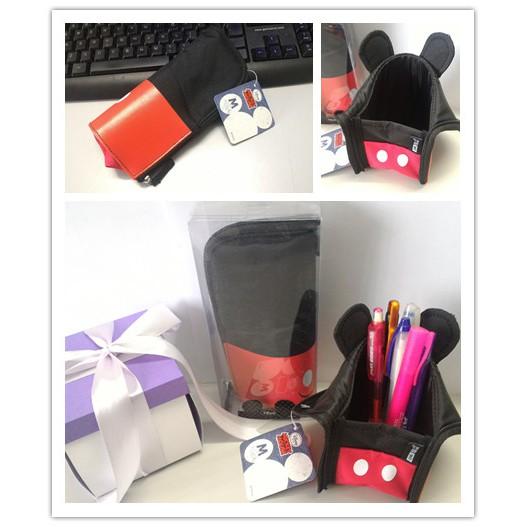 Creative Mickey Mouse Multifunctional Pen Bag Pen Holder