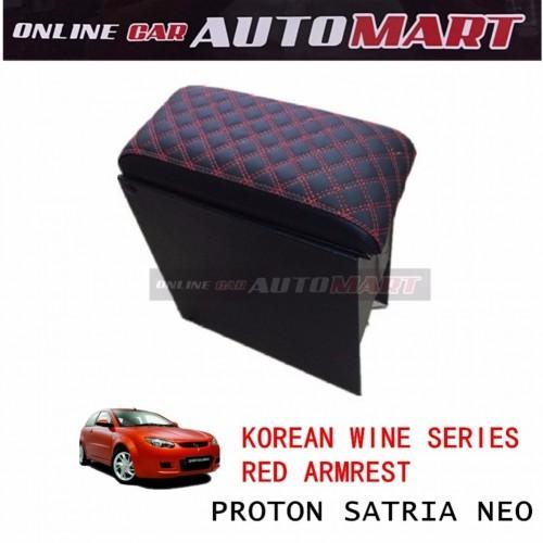 Korean Wine Series Armrest For Proton Satria Neo