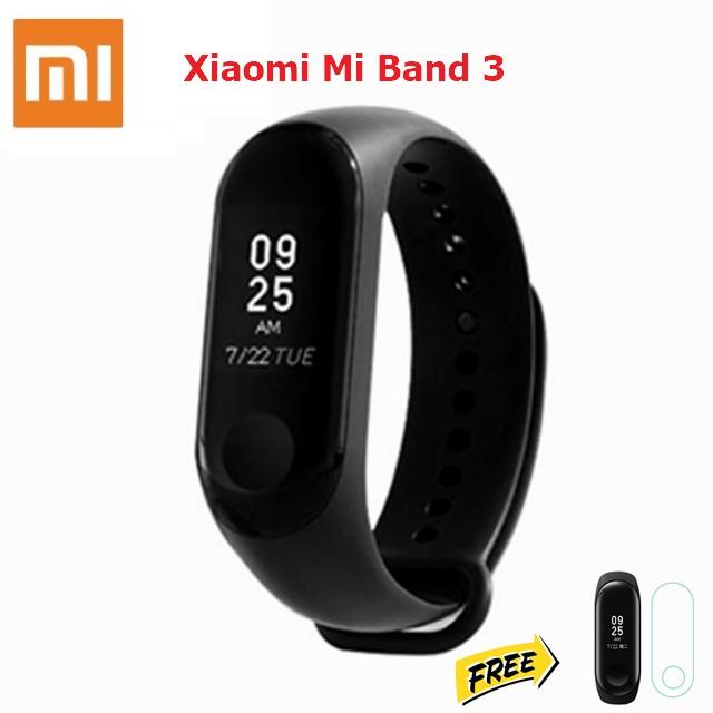 Xiaomi Mi Band 3 Smart Wristband Miband 3 OLED Screen - Free Screen  Protector