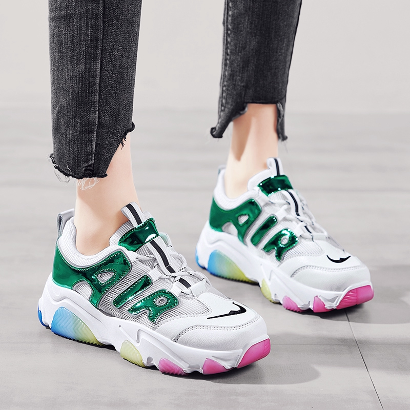 2020 Women/'s Trainers Casual Small Bee Sneakers Flat Running Sports Fashion Shoe