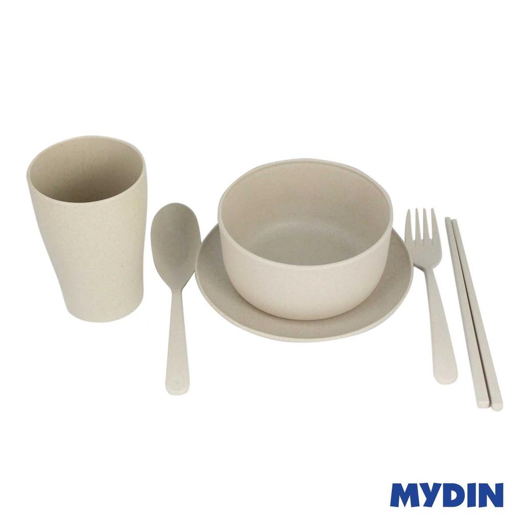 Eco-Friendly Wheat Fiber Bowl Set (5's) RYJS1200-061