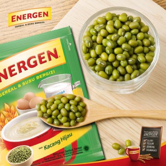 Energen Cereal Milk Green Beans Kacang Hijau 10 Sachet Pack Shopee Malaysia