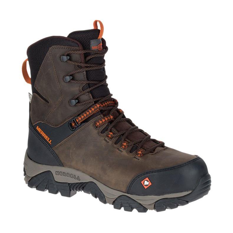 ede9210d9bbc6 Merrell Men's Moab 2 Peak Mid Waterproof Comp Toe Work Boot J17731 | Shopee  Malaysia