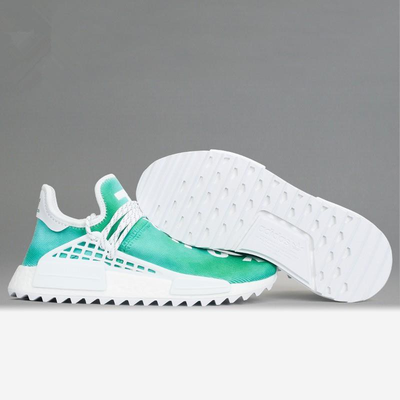 buy online 133fd 59acf 【4colors】Adidas Human Race Hu NMD Adidas men shoes Happy/Peace/Passion/Youth