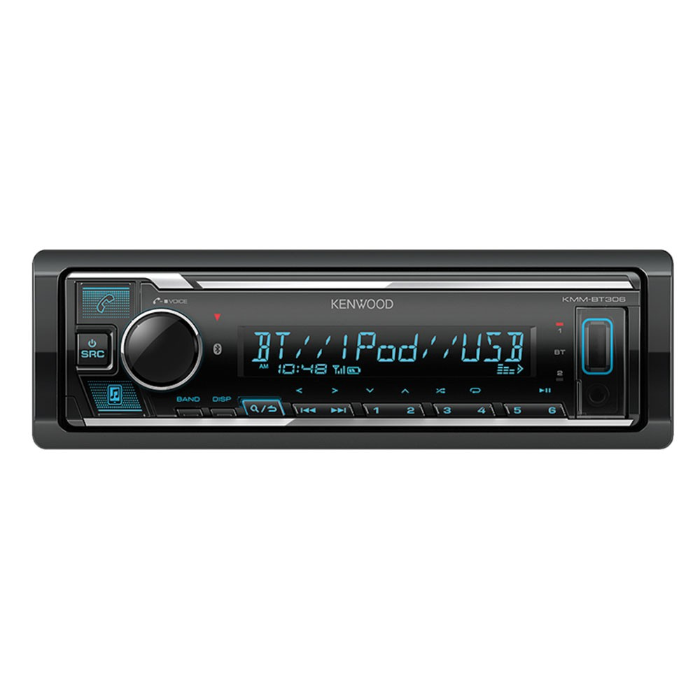 Kenwood kmm-bt305 mp3-autorradio con Bluetooth USB iPod Aux-in