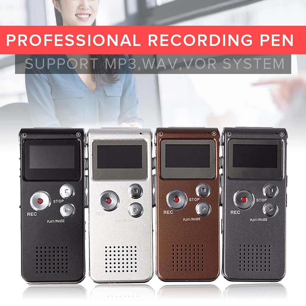 JNN M3 8G MP3 Player Automatic Digital Audio Sound Voice Recorder_3C | Shopee Malaysia