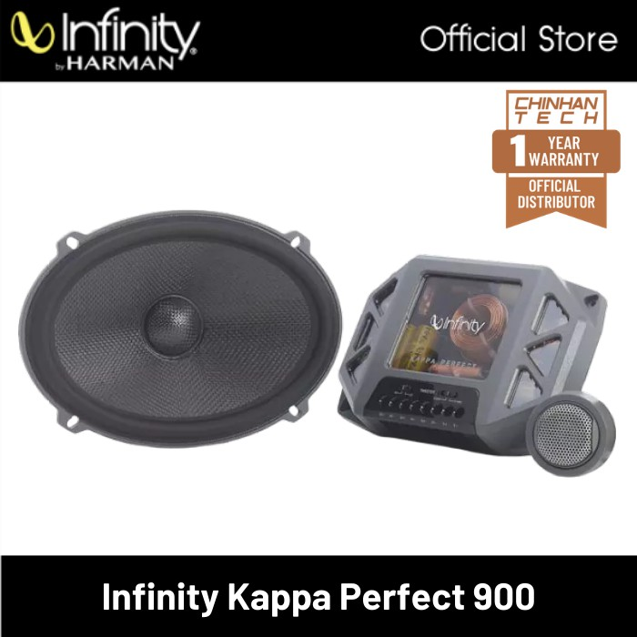 """Infinity Kappa Perfect 900 6""""x9"""" Component Speaker System"""