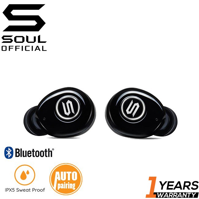 Soul ST-XS Superior High Performance Bluetooth 5.0 True Wireless Earphones