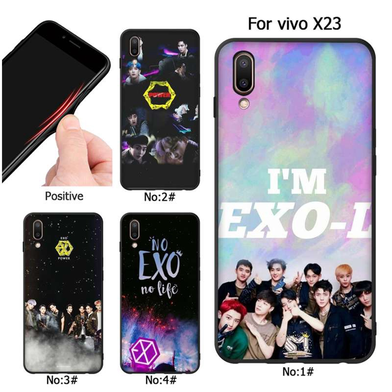 45314af8e Korea Kpop EXO VIVO X20 V7 X9 X20PLUS mobile phone case | Shopee Malaysia