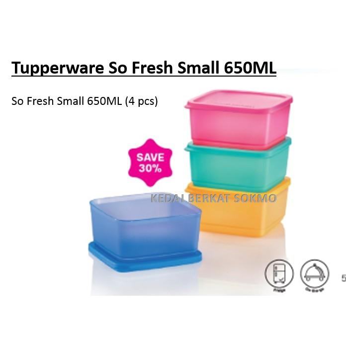 Tupperware So Fresh Small 650ML - 1pc