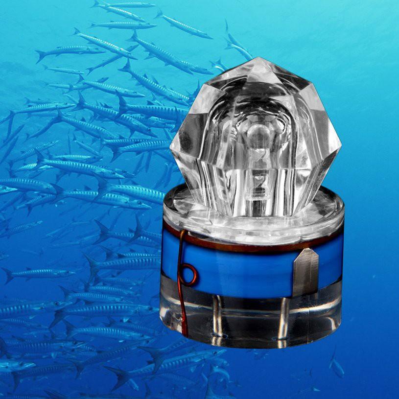 LED Diamond Shape Deep Sea Fishing Lamp LED Attracting Fishing Light for Fun