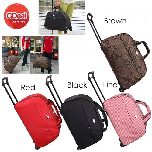 Trolley Travel Luggage Rolling Suitcase Wheels Trolley Case Portable Travel Bag