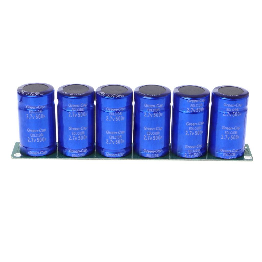 16V 2F Farad Capacitor Module Super Capacitors With Protection Board