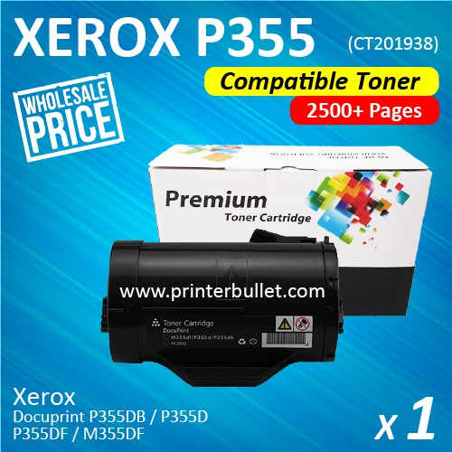 Fuji Xerox P355 / P355d / M355 (CT201938) Compatible Laser Toner Cartridge