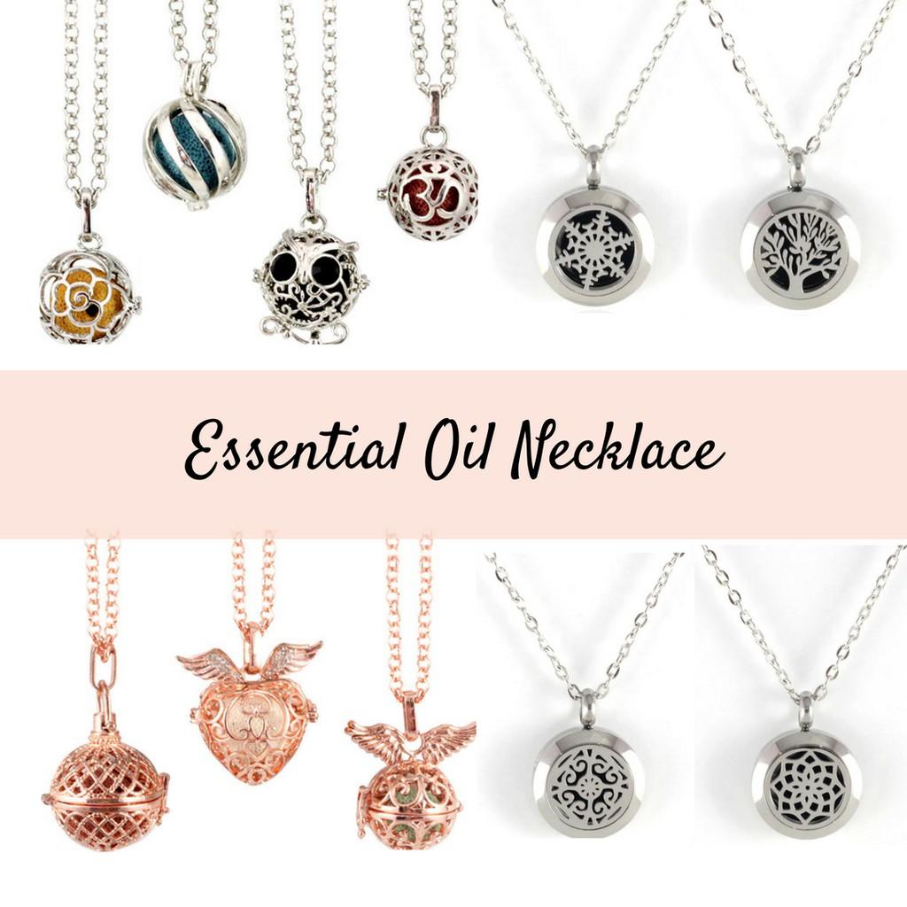 Scent or essential oil locket