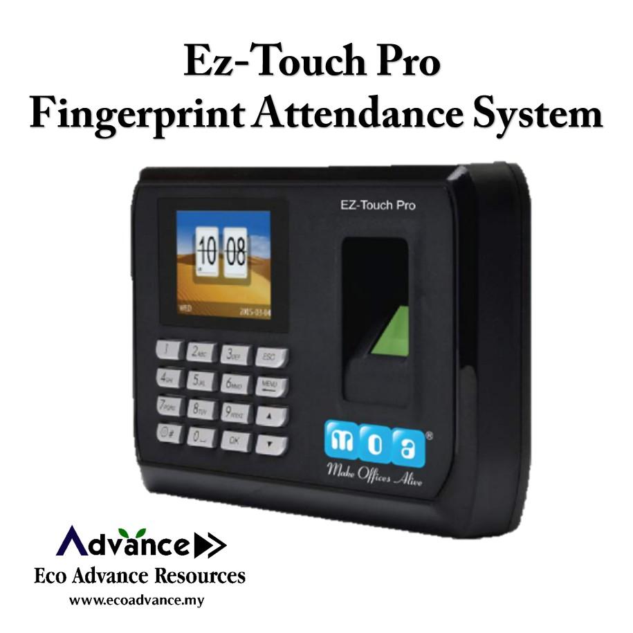 Fingerprint & Door Access Attendance System (Ez-Touch Pro)