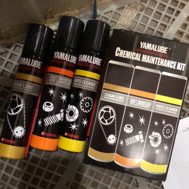 Yamalube Chemical Maintenance Kit Set