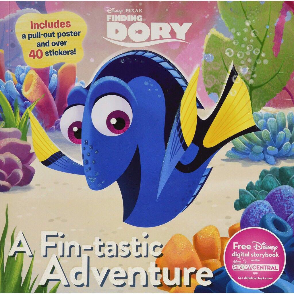 Disney Pixar Finding Dory A Fin-Tastic Adventure