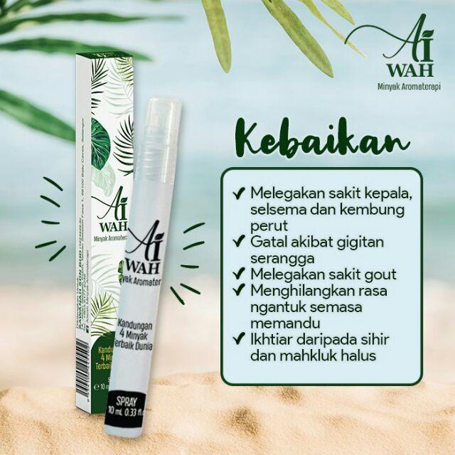 AiWah Minyak Aromaterapi | Shopee Malaysia