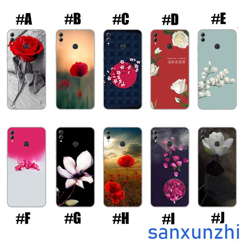 Huawei Honor 8X Mobile Phone Case Soft Cover Cool Couple Cartoon Shell | Shopee Malaysia