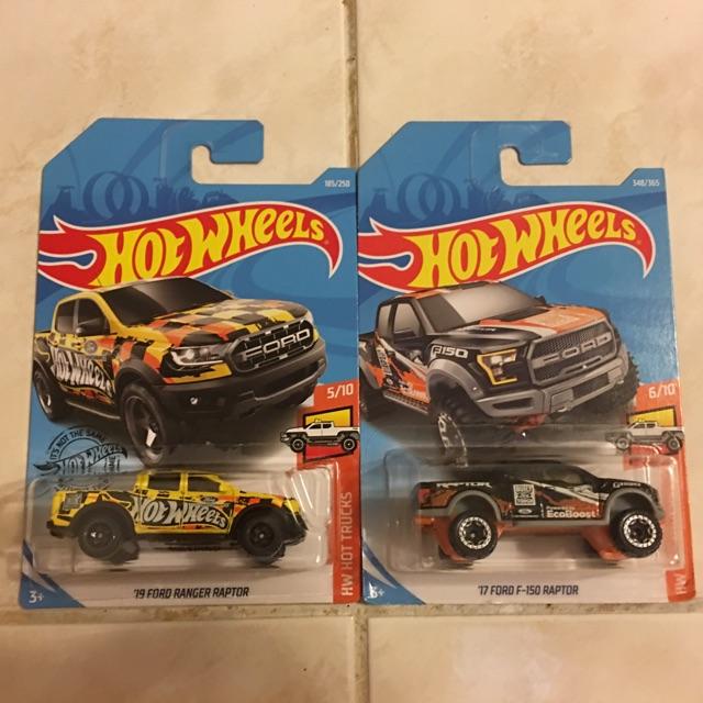 Hot Wheels Lot of 2 - Ford Raptor