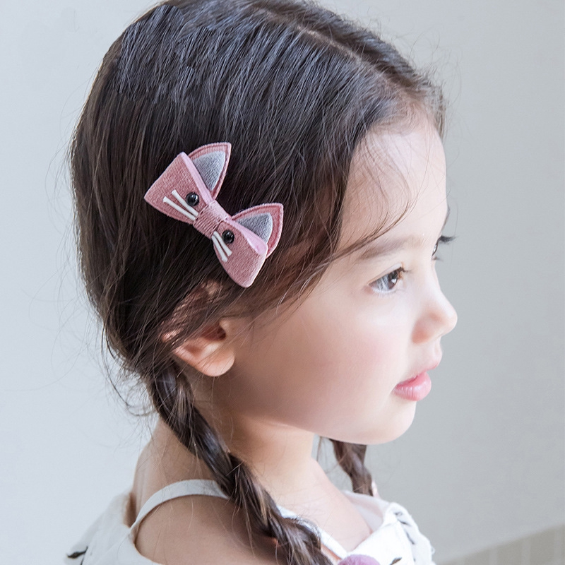 New Hollow Orecchiette Cat Ear Hair Claw Clip Gifts For Women Girl 4 Colors
