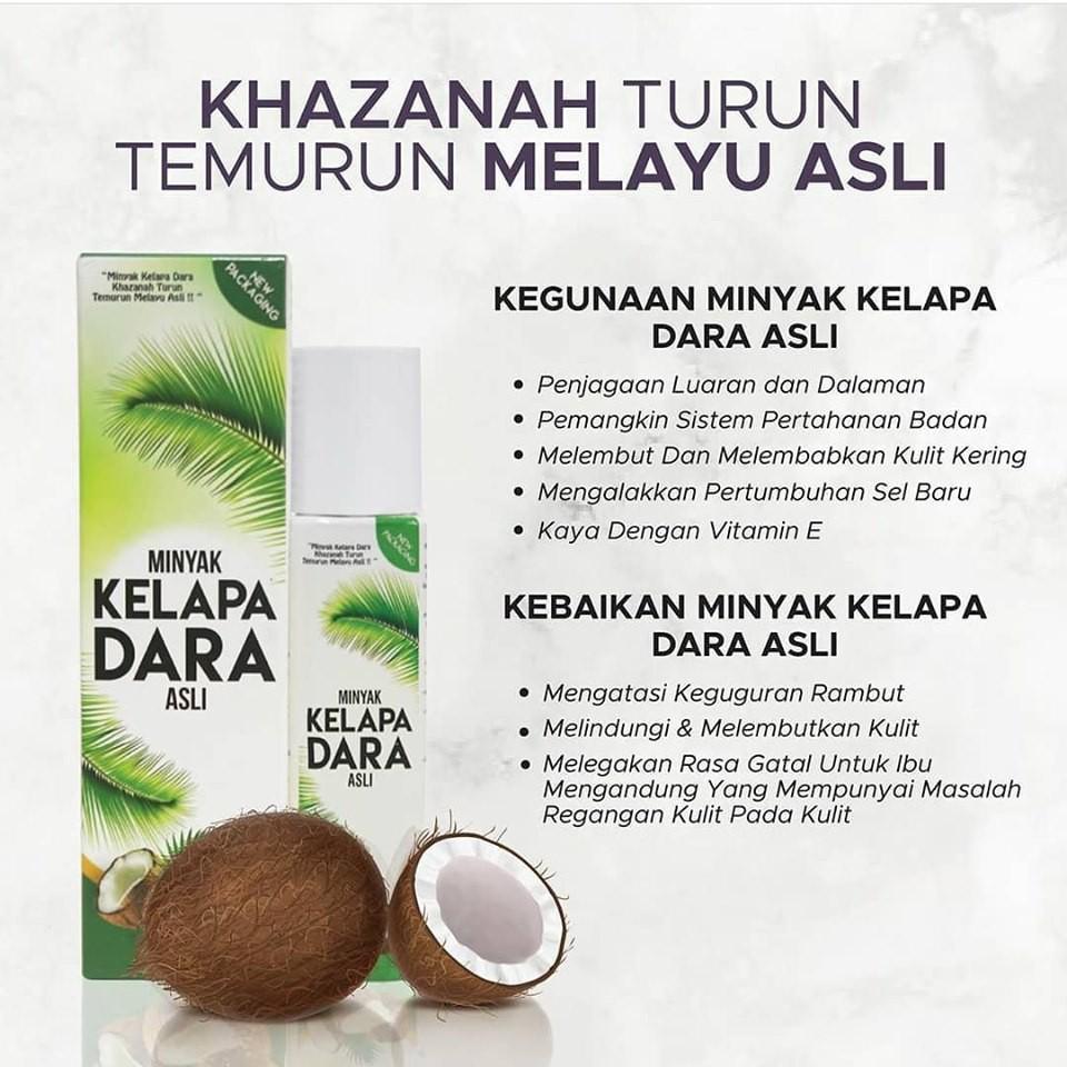 D Herbs Minyak Kelapa Dara Asli Shopee Malaysia