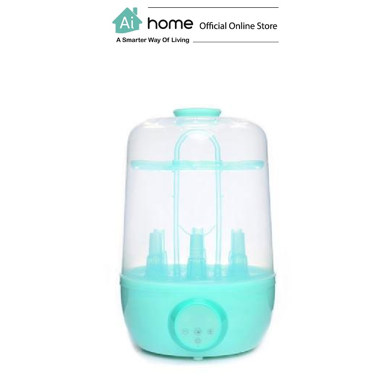 KOLAMAMA Baby Bottle Electric Steam Sterilizer And Dryer (Green) [ Ai Home ]