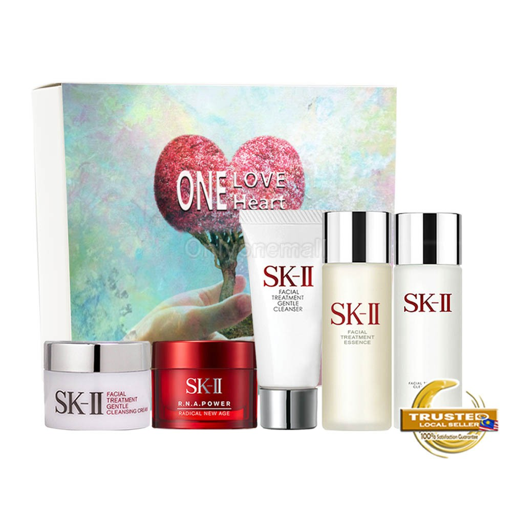 SK-II Pitera Daily Essentials Travel Set 14 with Packing Box (5 items with FREE Mystery Gift)