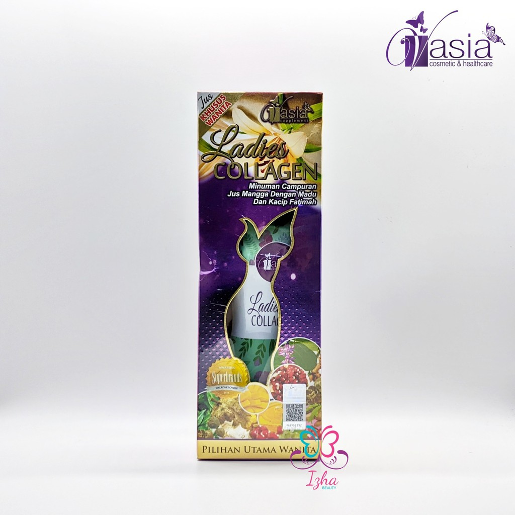 [V'ASIA] Ladies Collagen (botol) - 260ml