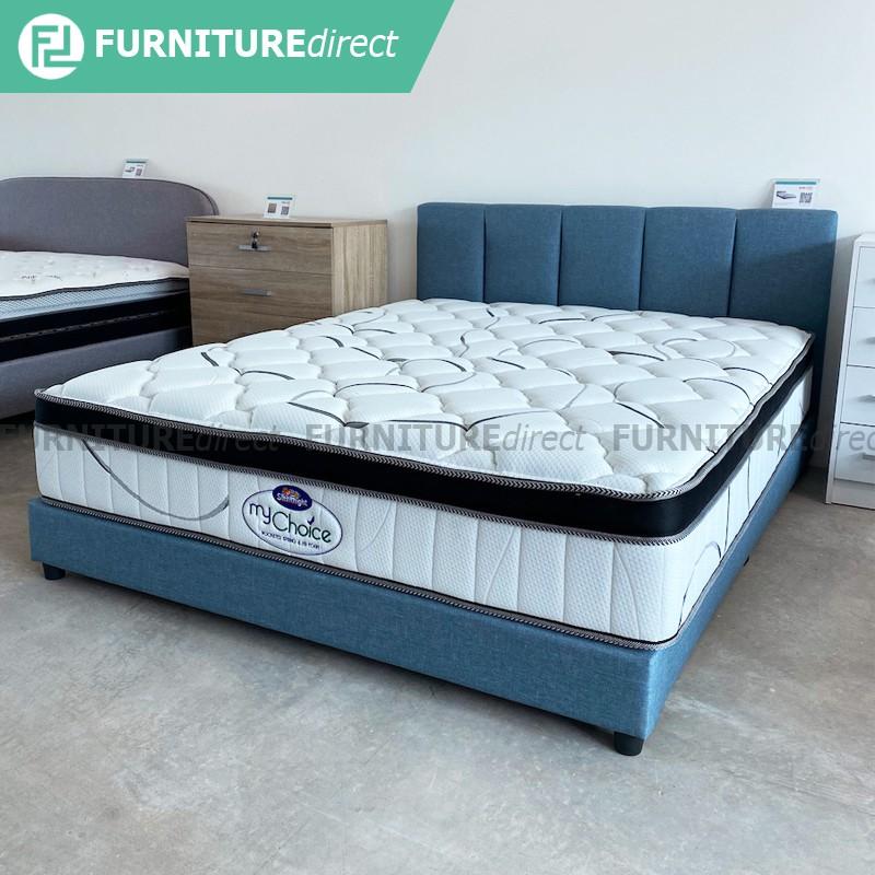 """Silentnight Mychoice 12"""" pocket spring pillow top mattress"""