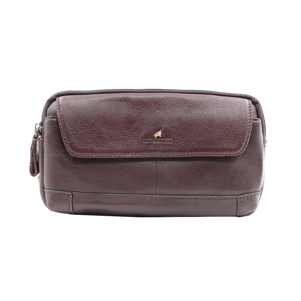 RAV DESIGN 's Men Waist Bag Genuine Leather |RVY473G1