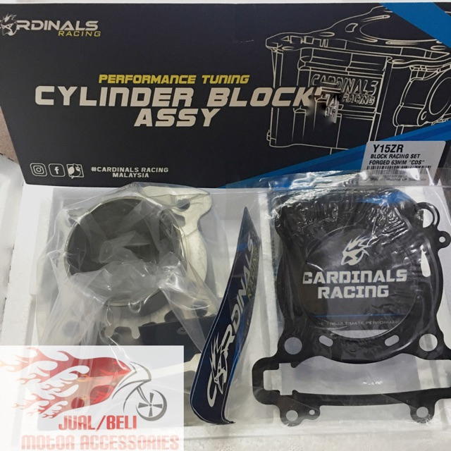 Cardinals Block Racing Set Forged CDS Y15ZR 63mm , LC135 65mm