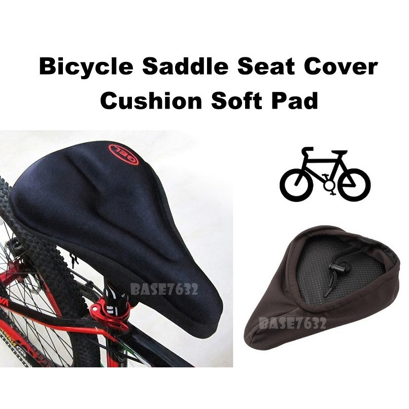 Bike Saddle Cover Gel Seat Cover New Velo Gel Cycle