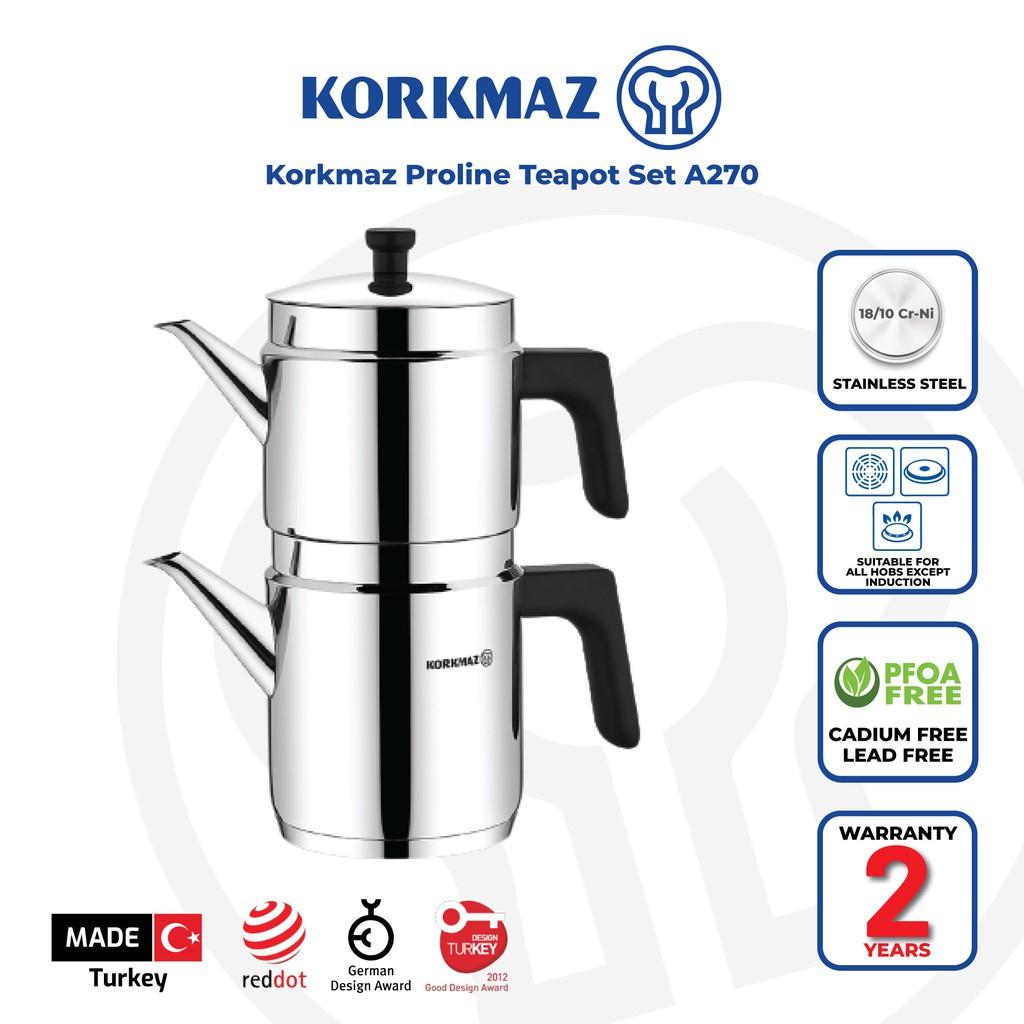 Korkmaz Proline Teapot Set A270