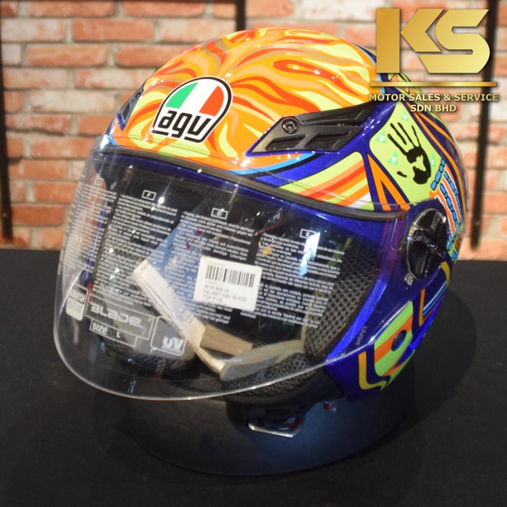 Agv Blade Open Face Helmet Five Continents Original Shopee Malaysia