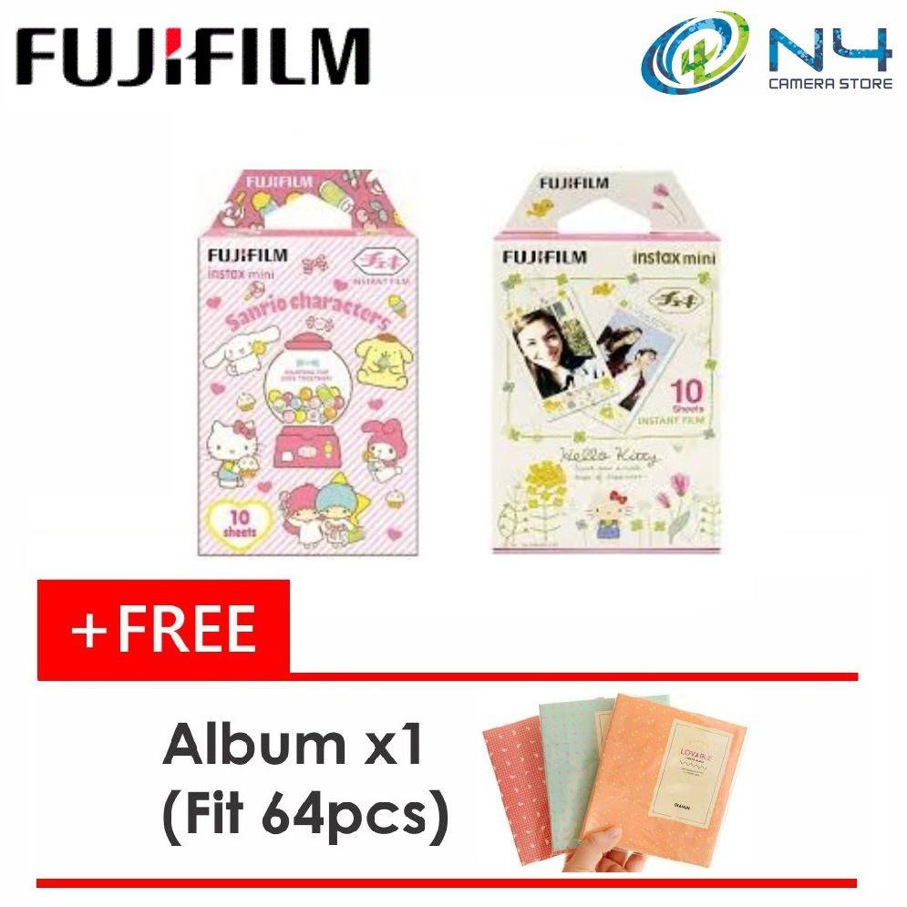 Fujifilm Instax Mini Film 20pcs Design 10pcs Shopee Malaysia Paper Comic