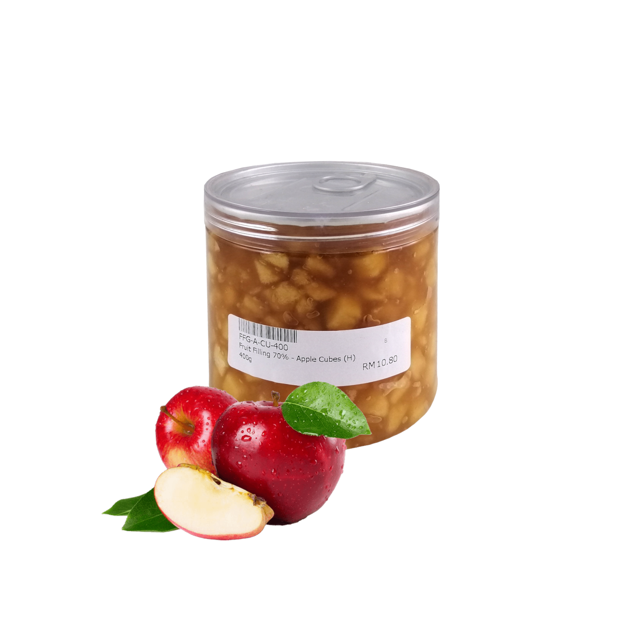 Fruit Filling, Apple Cubes, 70%, Belgium, 400 g