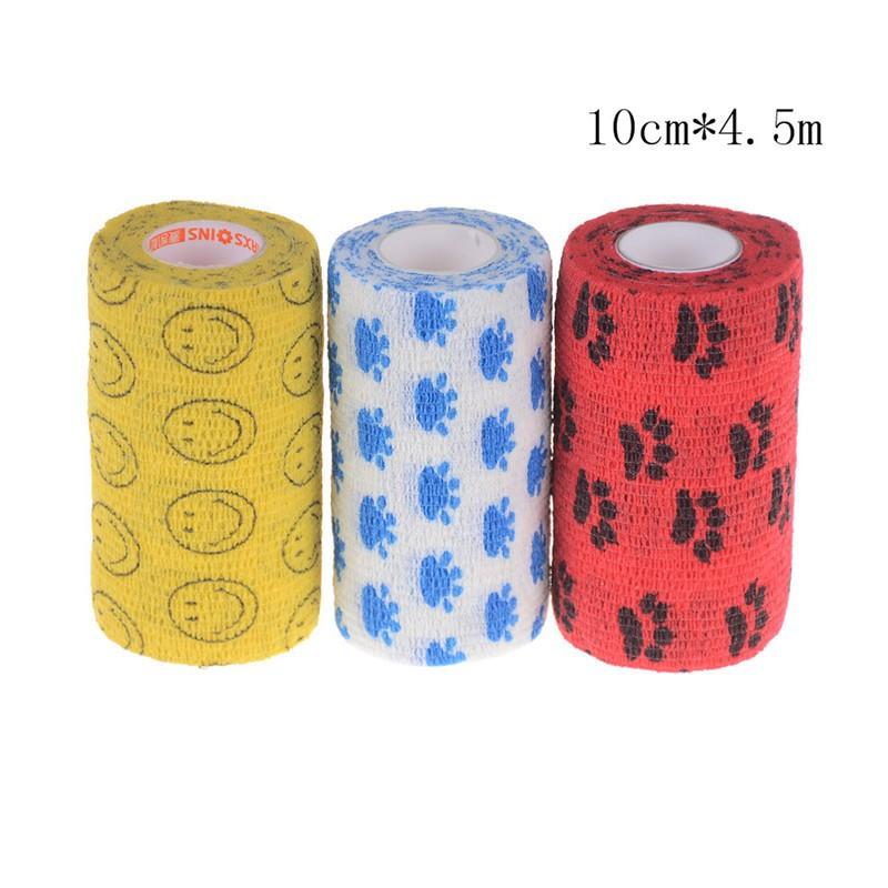 Waterproof Bandage Self Adhesive Breathable Tape Colorful Pet