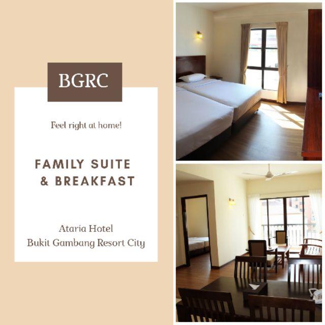 VIP Price Double Family Room Ataria Gambang Resort Hotel