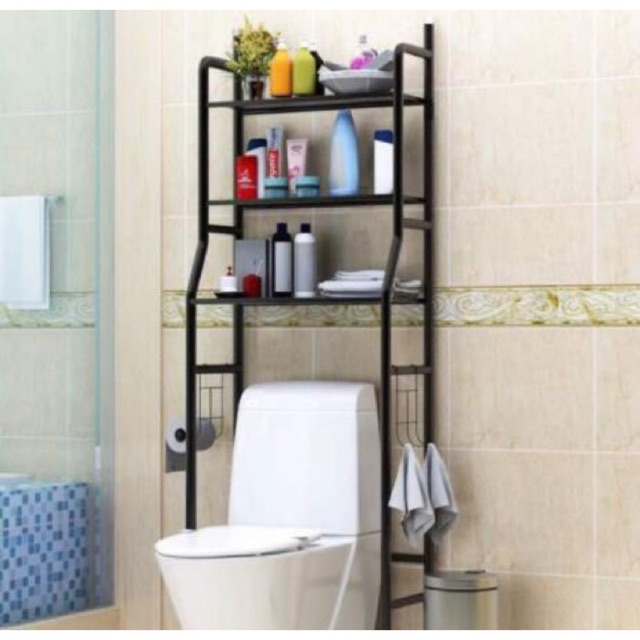 3 Tier Toilet Rack Bathroom Rack Rak Bilik Air Shopee Malaysia