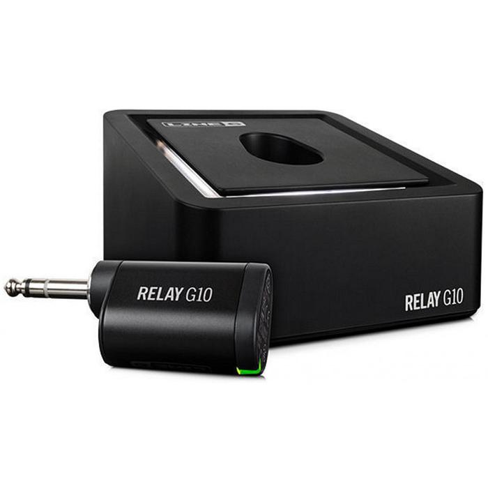 """LINE 6 RELAY G-10 Digital Wireless Guitar System Up To 50-Foot Range, Compact 1/4"""" Rechargable Transmitter (G10)"""