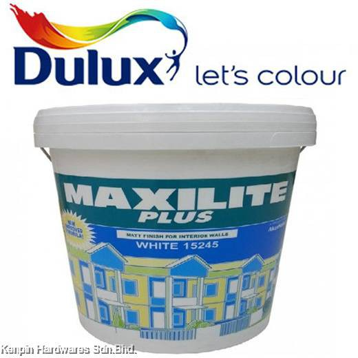 7L DULUX MAXILITE PLUS INTERIOR WALL & CEILLING EMULSION PAINT MAXI LITE