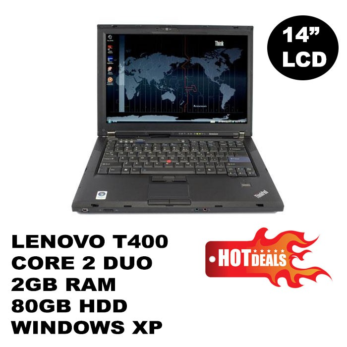 REFURBISHED - Lenovo Thinkpad T400 14