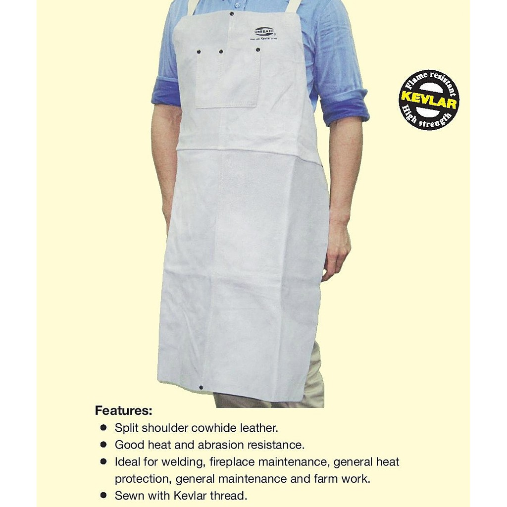 Welding Apron Leather and Welding Hand Sleeve Leather, Leg Cover Guard Leather