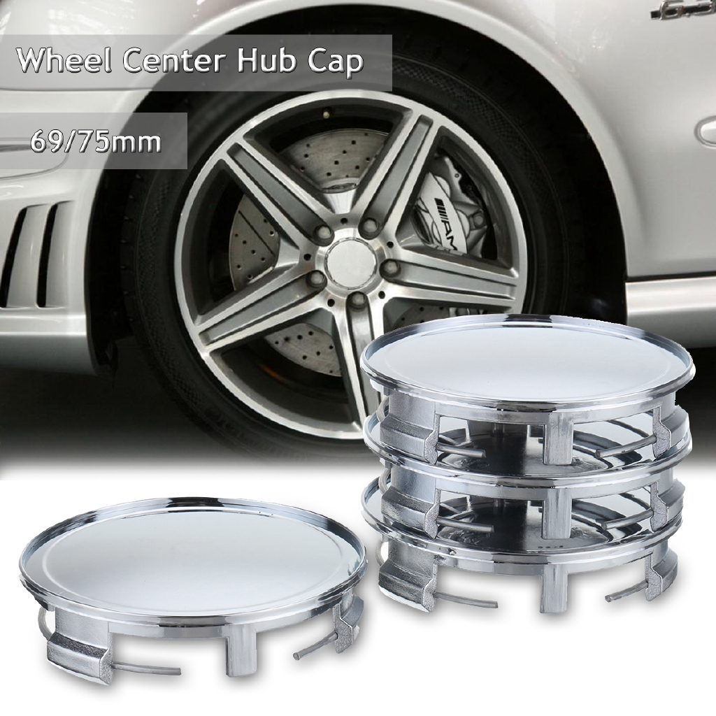 65mm ABS Vehicle Car Wheel Center Caps Cover Tyre Tire Rim Hub Cap Fit For VW