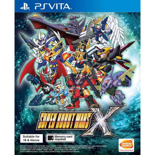 SUPER ROBOT WARS X (ENGLISH) - PSVITA (R3)