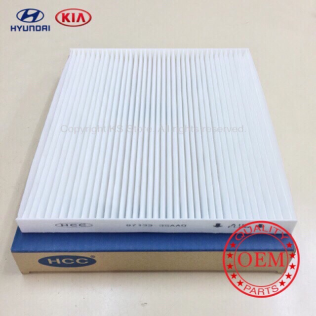Hyundai Sonata 2009(YF)/Kia Optima K5/Santafe 2014(DM) Cabin Air Filter-OE:97133-3SAA0